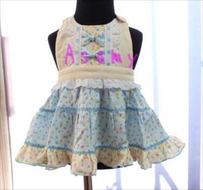 親子エプロンの通販『Asamy』ではドレスのようなエプロンスタイも人気