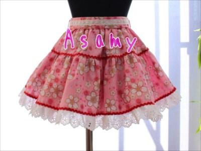フリフリの子供服ならピンクや花柄、レースのスカートで「お姫様」スタイル
